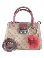 Guess Women's Logo Luxe Small Society Satchel Handbag UPC: