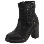 Harley Davidson Women's Ludwell Double Strap Boots Shoes UPC: