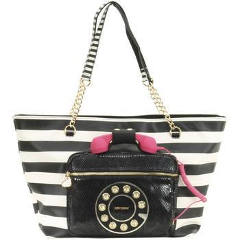 Betsey Johnson Women's Hold Please Phone Tote Handbag