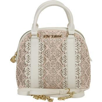 Betsey Johnson Women's Chic Frills Dome Satchel Handbag