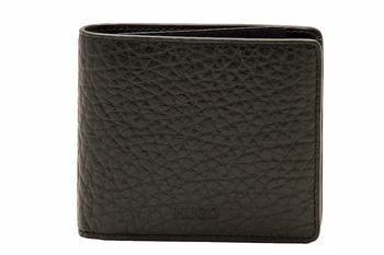 Hugo Boss Men's Ergil Pebbled Leather Bi-Fold Wallet