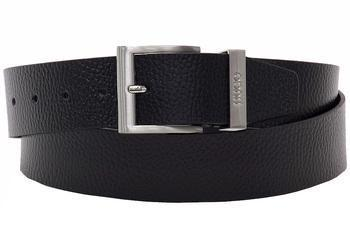 Hugo Boss Men's C-Budy Hammered Genuine Leather Belt