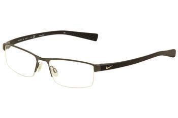 Nike Men's Eyeglasses 8095 Half Rim Optical Frame