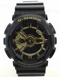Casio G-Shock At A Glance GA110GB-1A Men's Black Watch  UPC:079767943219